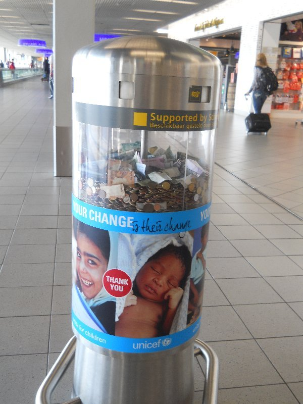 donation centre for coins